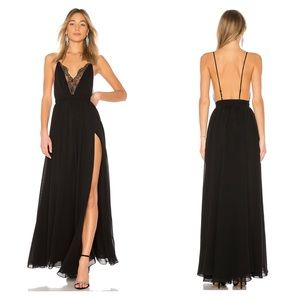NEW Michael Costello X Revolve Justin Lace Gown